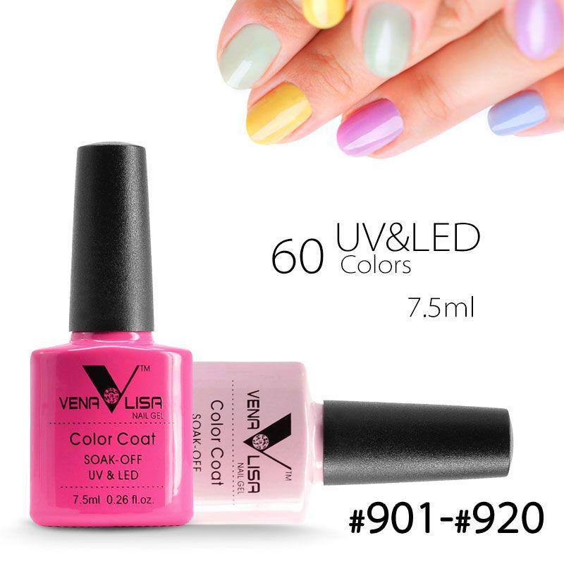 61508 canni nueva marca venalisa nail art 60 color 7.5 ml soak Off ...