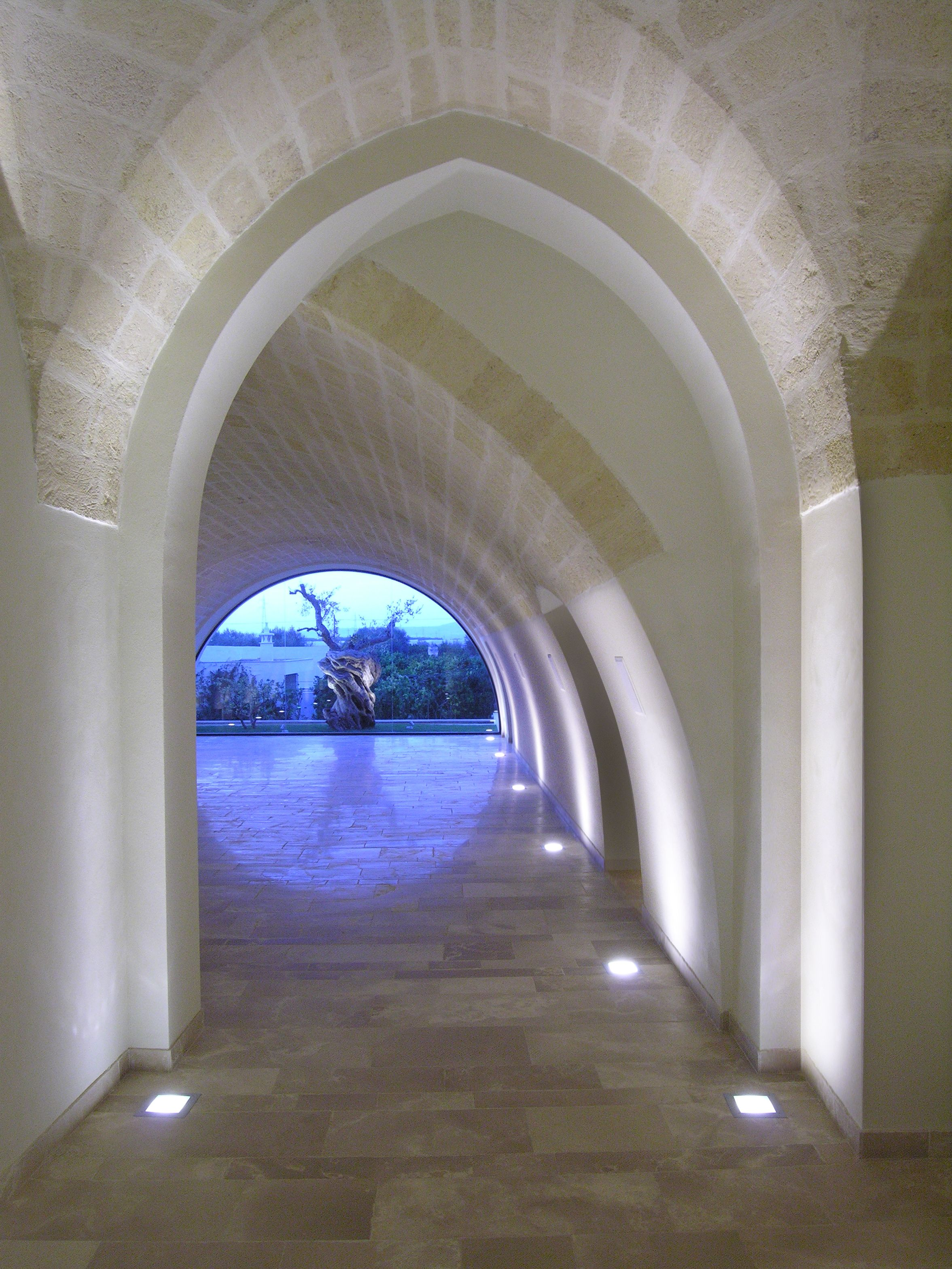Masseria Ciura Simeslighting Renovation And Enlargement Of An Old