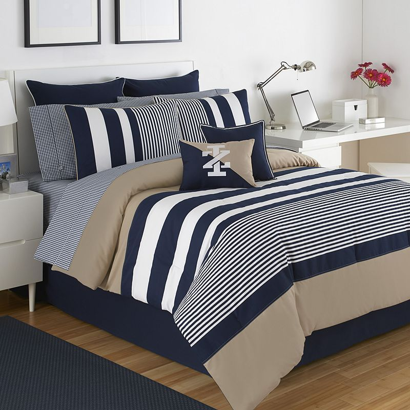 IZOD Classic Stripe Bedding Collection Comforter sets