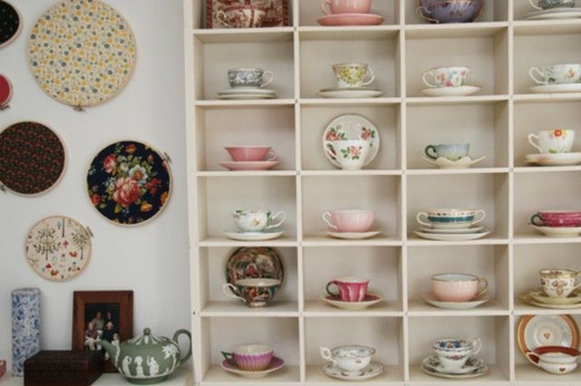 Perfectly Lovely Teacup Storage Solution