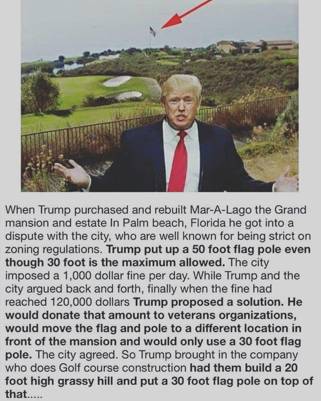 000 Hahaha… and the American Flag still flies 50 ft high. Go