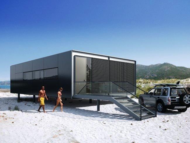 Pin de lcv en contenedores pinterest casas casas - Contenedores para vivir ...