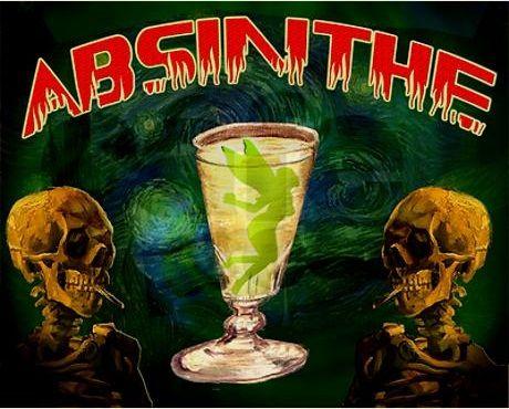 Absinthe Tee Shirt Design