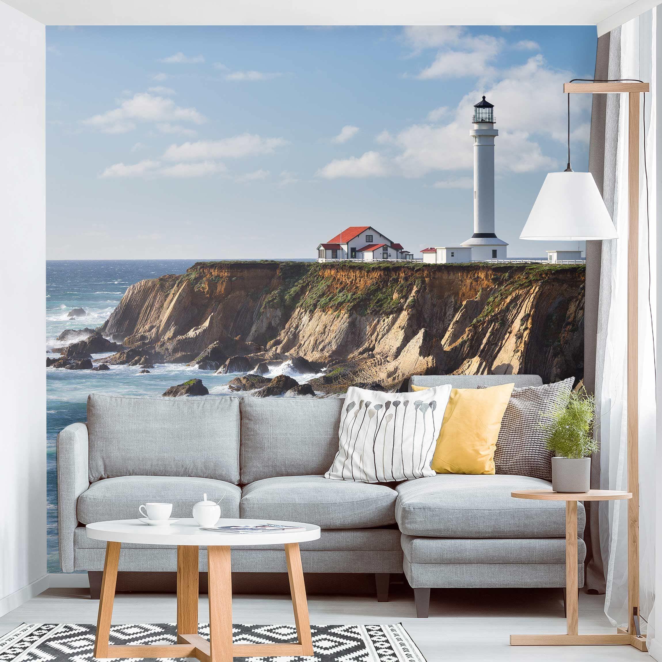 Carta da parati larga - Point Arena Lighthouse California ...