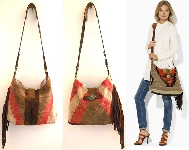 ralph lauren vintage blanket bag - Google Search