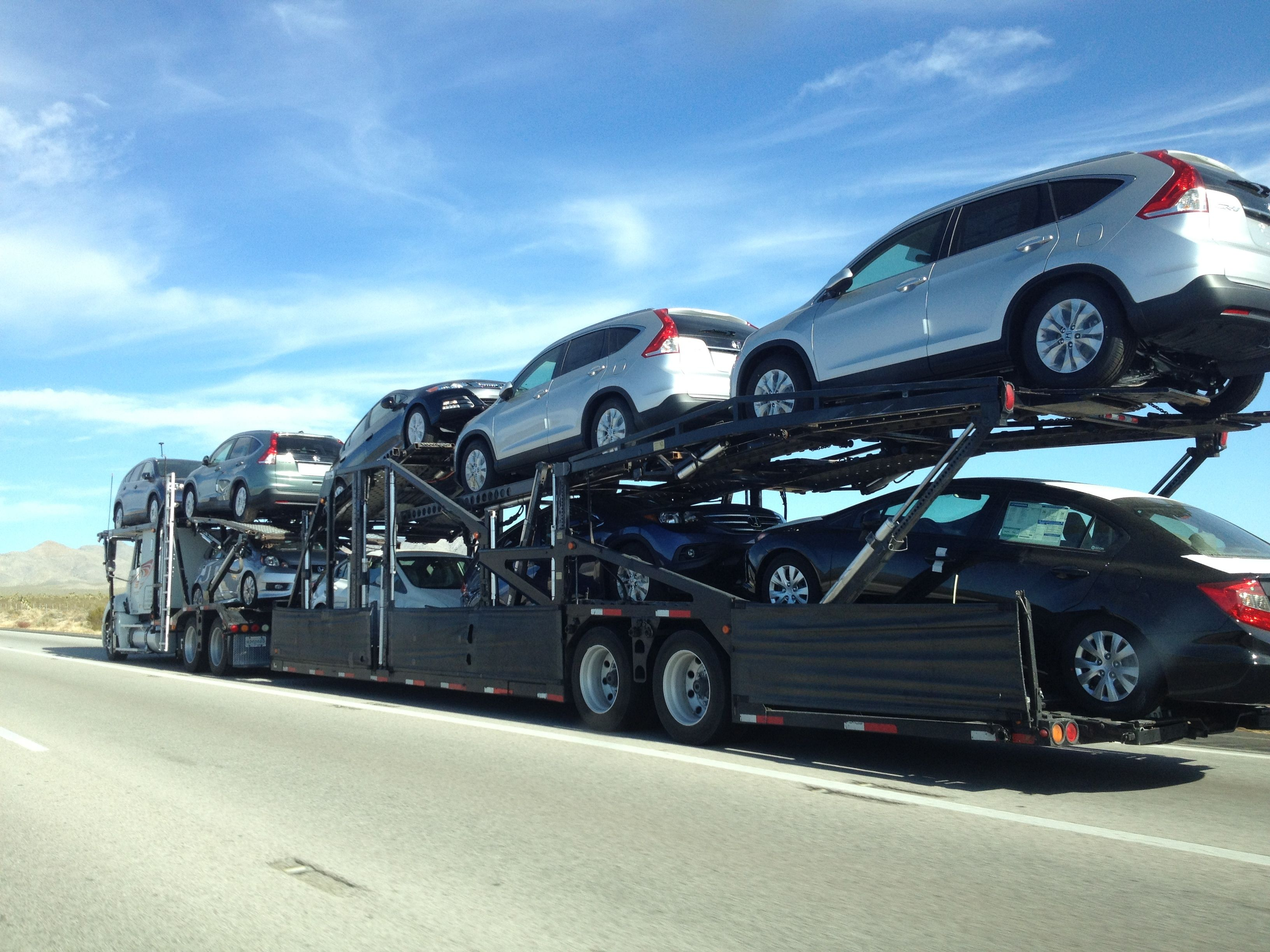 Auto Hauler Heading To Las Vegas From San Diego Reliable Cars