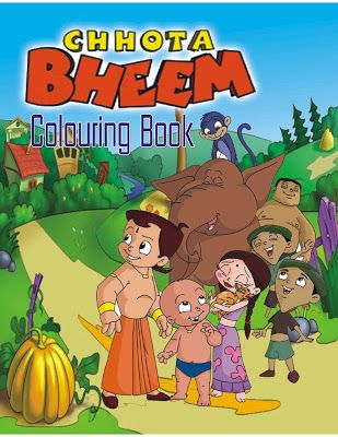 Chhota Bheem Coloring Book #ColoringBook #download #e-book - best of chhota bheem coloring pages games