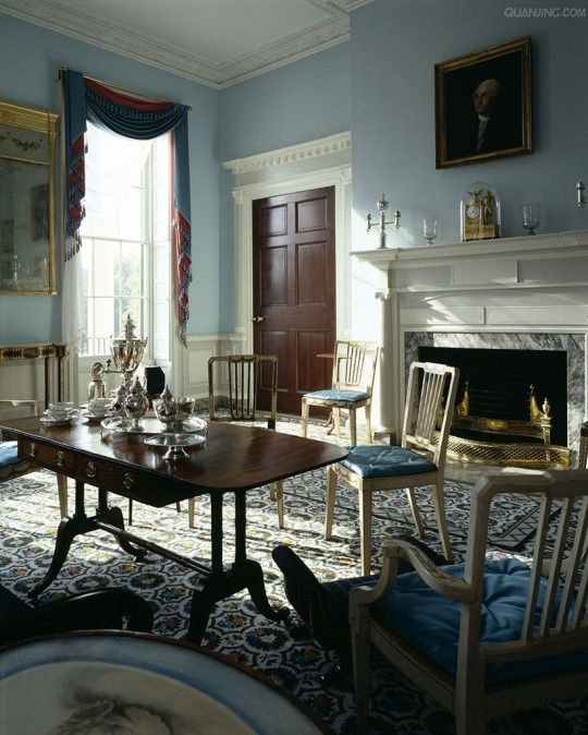 Homewood House Baltimore 1802 06 The Drawing Room With Images