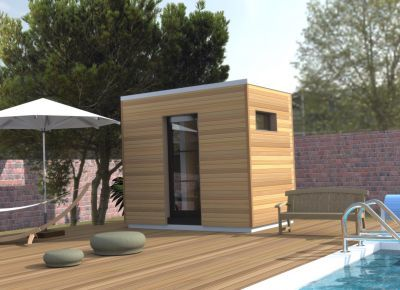 Bureau de jardin, Pool house, Bureau d\'extérieur, Abri de jardin ...