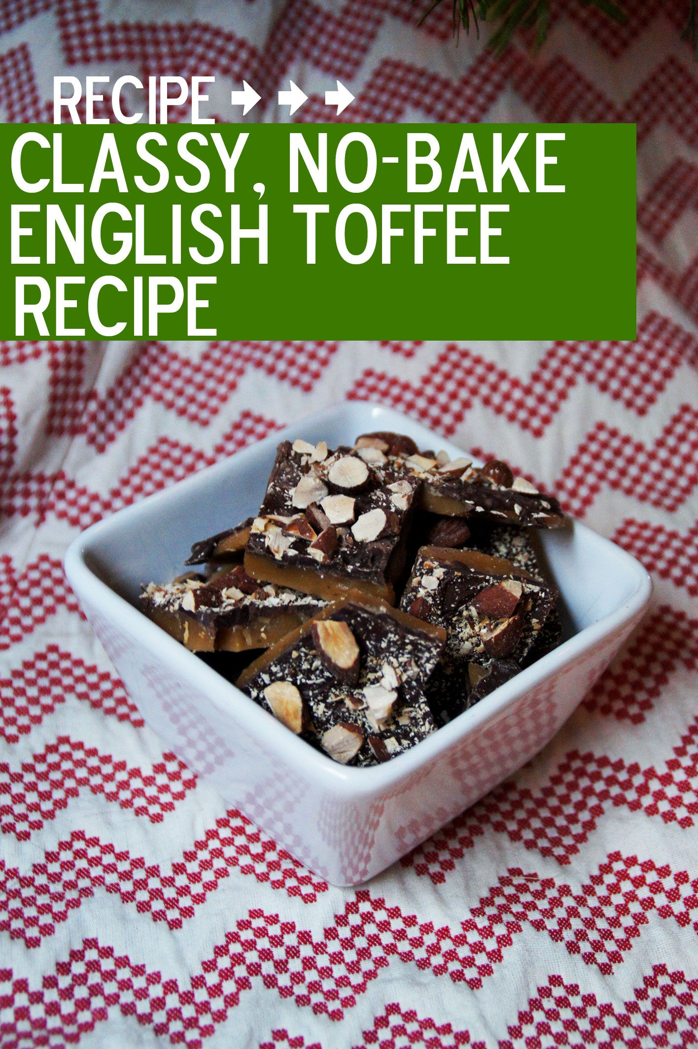The best homemade gift: Classic English Toffee #recipe