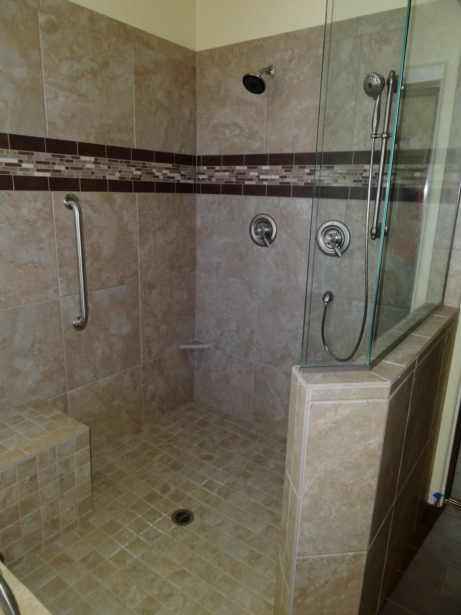 Chandler shower remodel   Decorating Ideas   Pinterest   Open ...