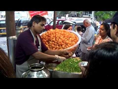 Street Food Of India | Awesome & One Of The Best Panipuri Of Mumbai