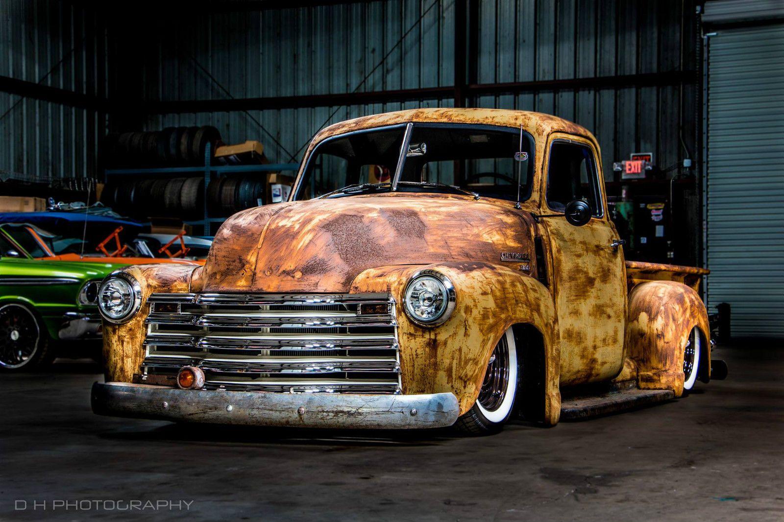 1950 Chevrolet 3100 Patina Truck / Rat Rod / Hot Rod | eBay ...