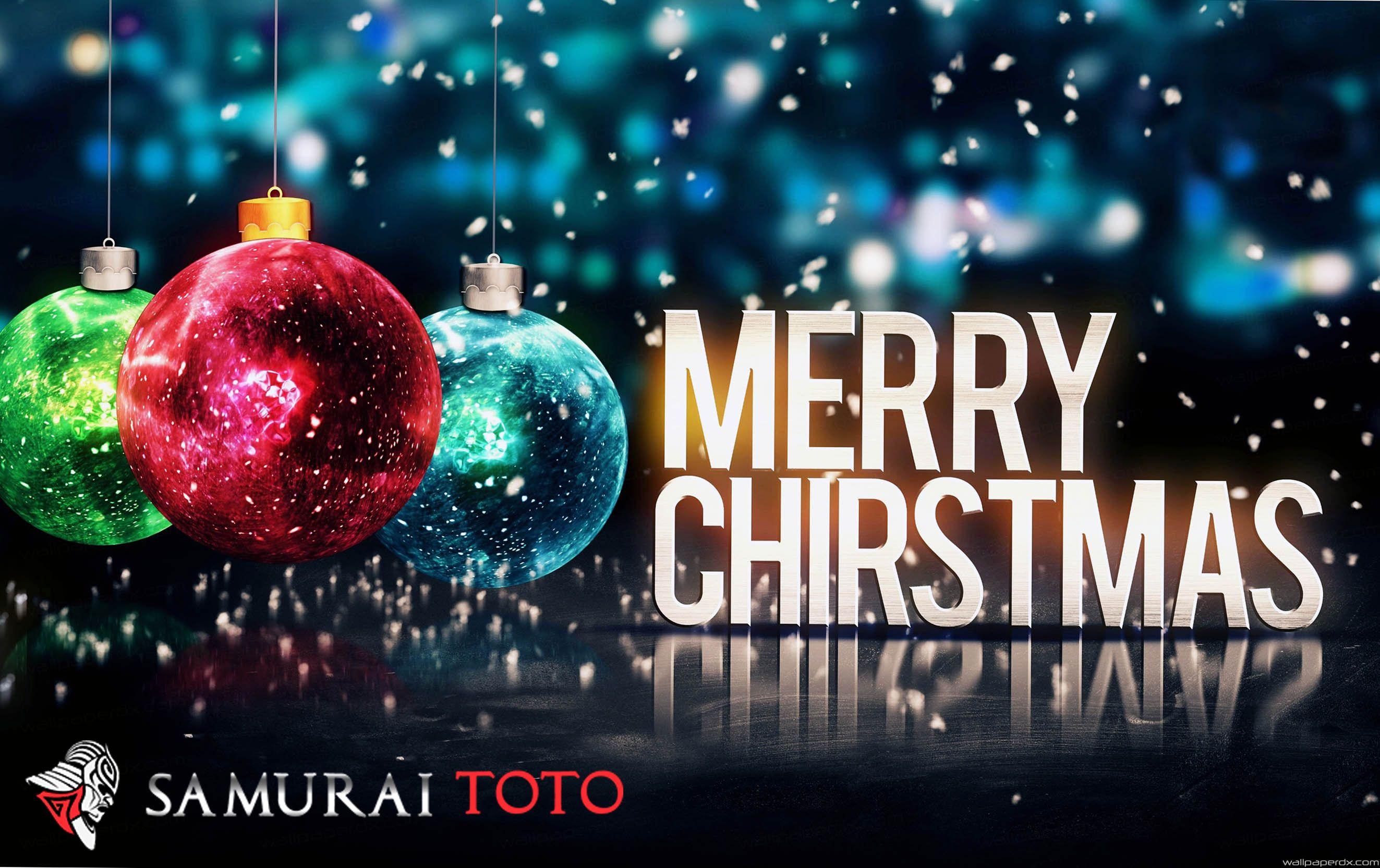 kami segenap kru dan staff dari samuraitoto situs togel online terpercaya mengucapkan selamat hari natal dan tahun baru 2018 semoga sukses selalu
