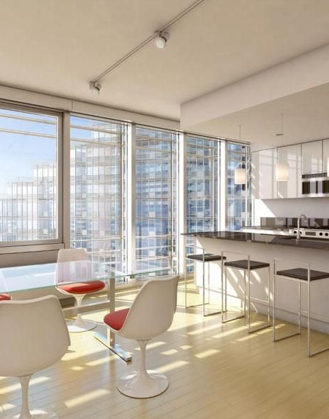 #studio #apartment at Mercedes House located at 555 West 53rd Street from $2,400 per month
