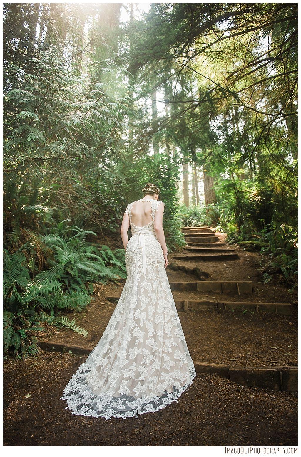 Ethereal Wedding on the Oregon Coast // Forest Wedding