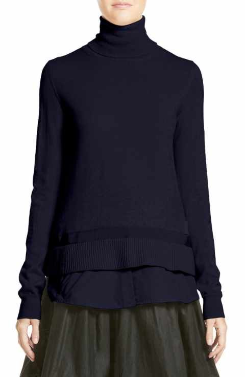 340d217ad Moncler Ciclista Tricot Knit Wool Turtleneck Sweater | t h e b lu ...
