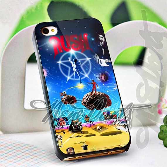 Rush Band Galaxy Design Iphone 4 4s 5 5s 5c Case By