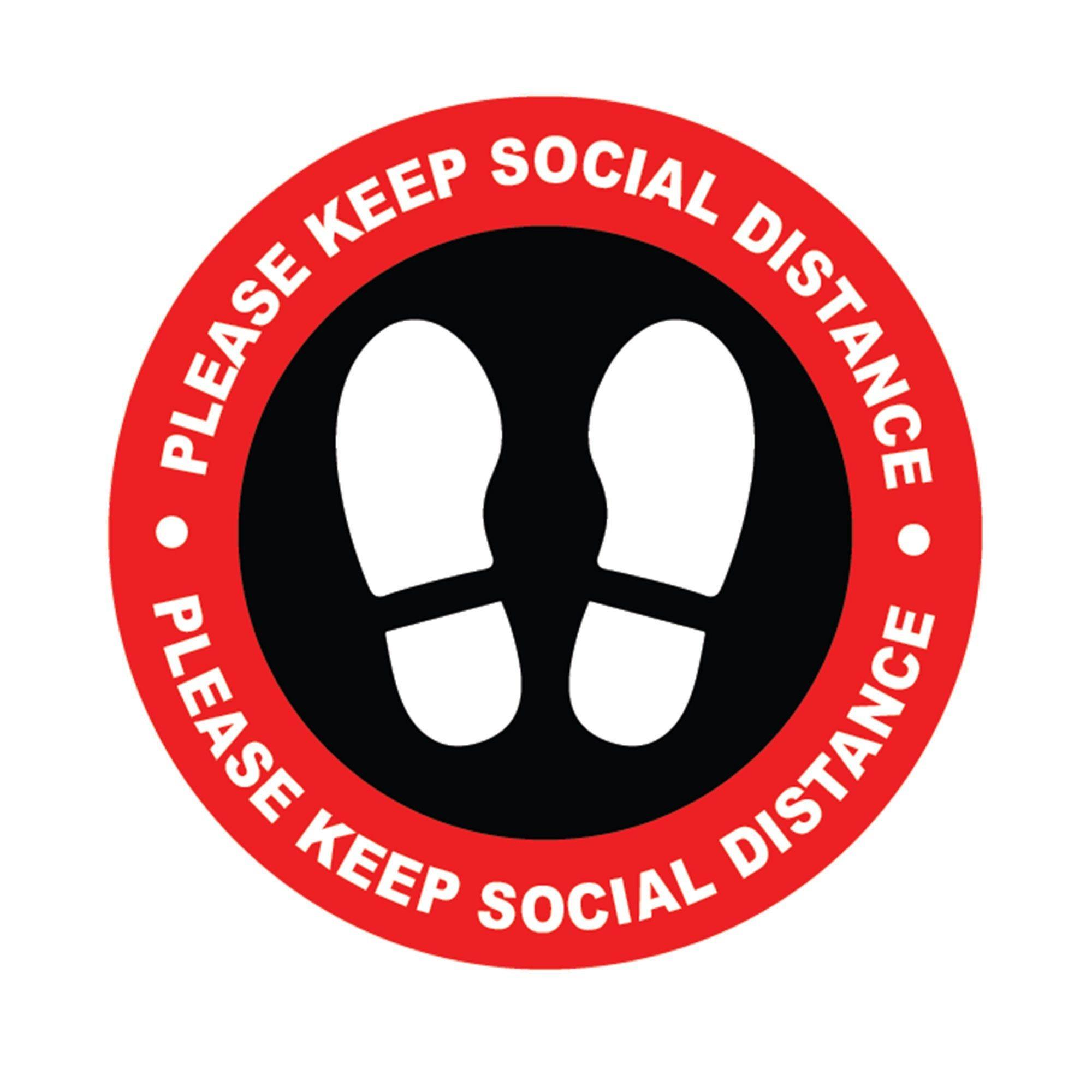 Social Distance Floor Stickers Keep Social Distance Self Etsy Floor Stickers Adhesive Vinyl Glass Floor