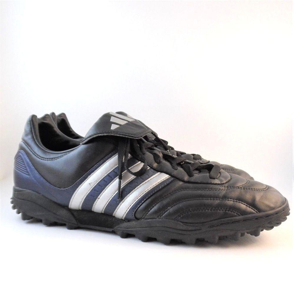 f477dbfa5 adidas Turf Soccer Shoes Copa Leather Black / Blue US size 11, UK 10.5, EUR  45 #adidas
