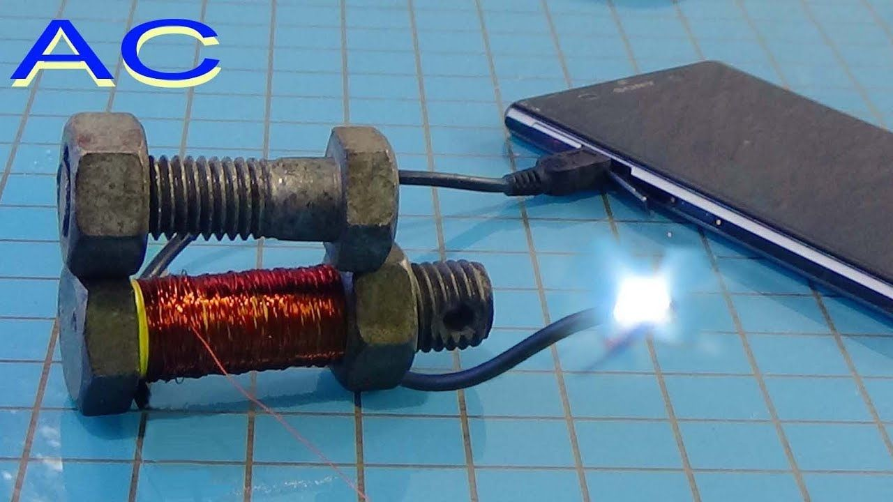 Mobile battery charger circuit without transformer used