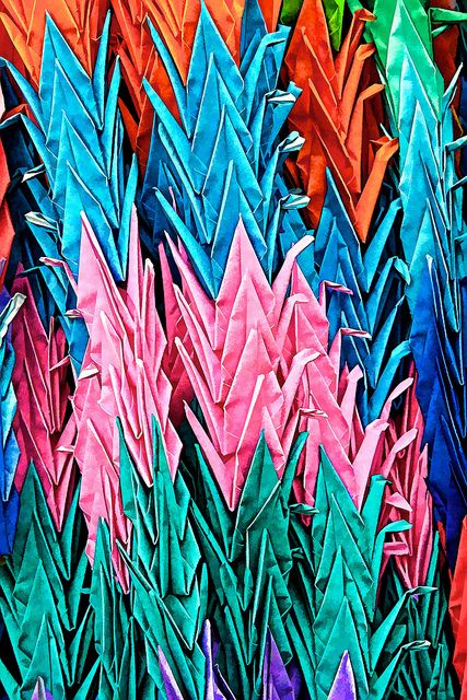 1000 origami cranes, Senba tsuru 千羽鶴
