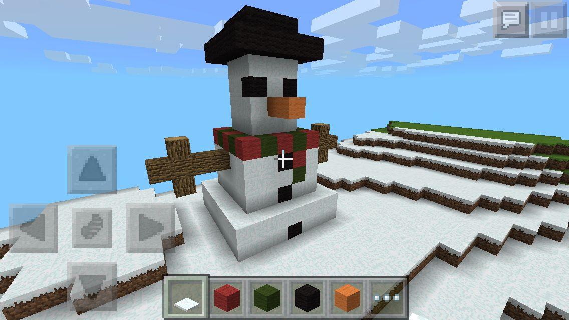 Minecraft snowman Holiday, Willis tower