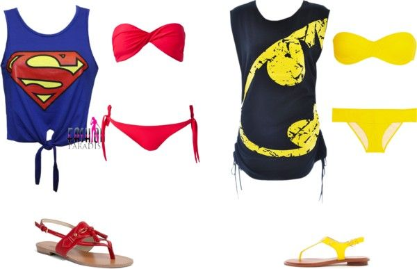 Superhero Bikini Bodies Geeky Clothes Geek Clothes Bikinis