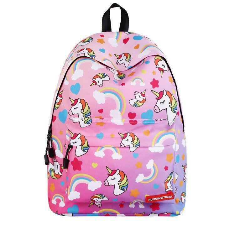 7024950fed4f Школьный рюкзак с Единорогом | Школьные рюкзаки | Girl backpacks ...