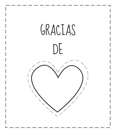 Tarjetas de gracias para colorear | Ideas para, Messages and Frases