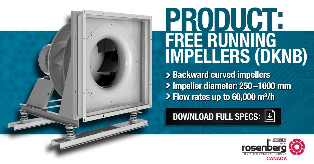 PRODUCT Free running impellers (Type DKNB) Fan module