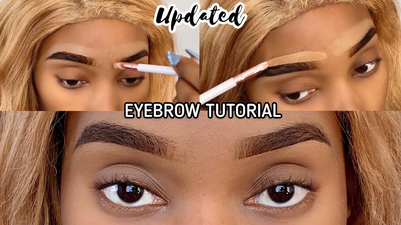 *Updated EYEBROW TUTORIAL | Super Easy & Simple *Beginner Friendly | South African YouTuber ��
