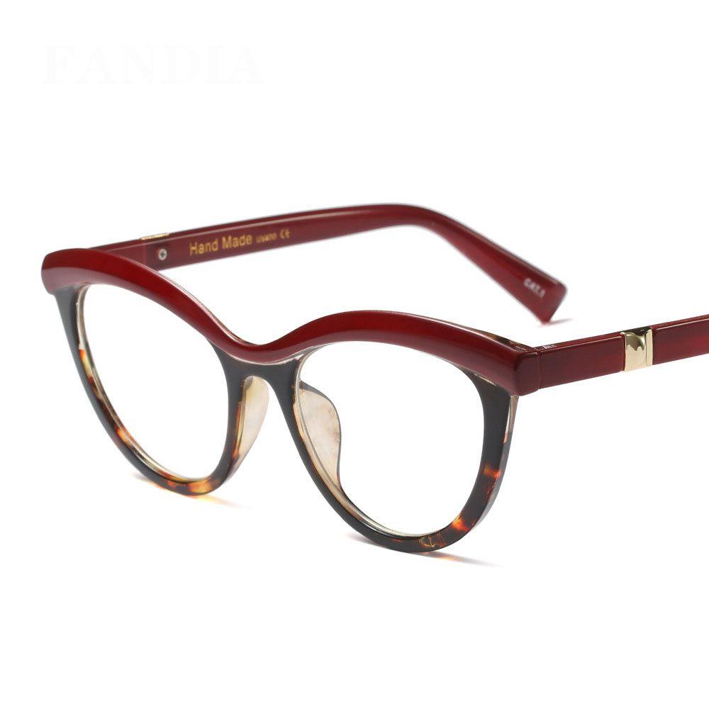 add2b4b1c6c MOLNIYA Fashion Cat Eye Reading Eyeglasses Optical Glasses Frames 2018 New  Glasses Women Frame Ultra Light Frame Clear Glasses