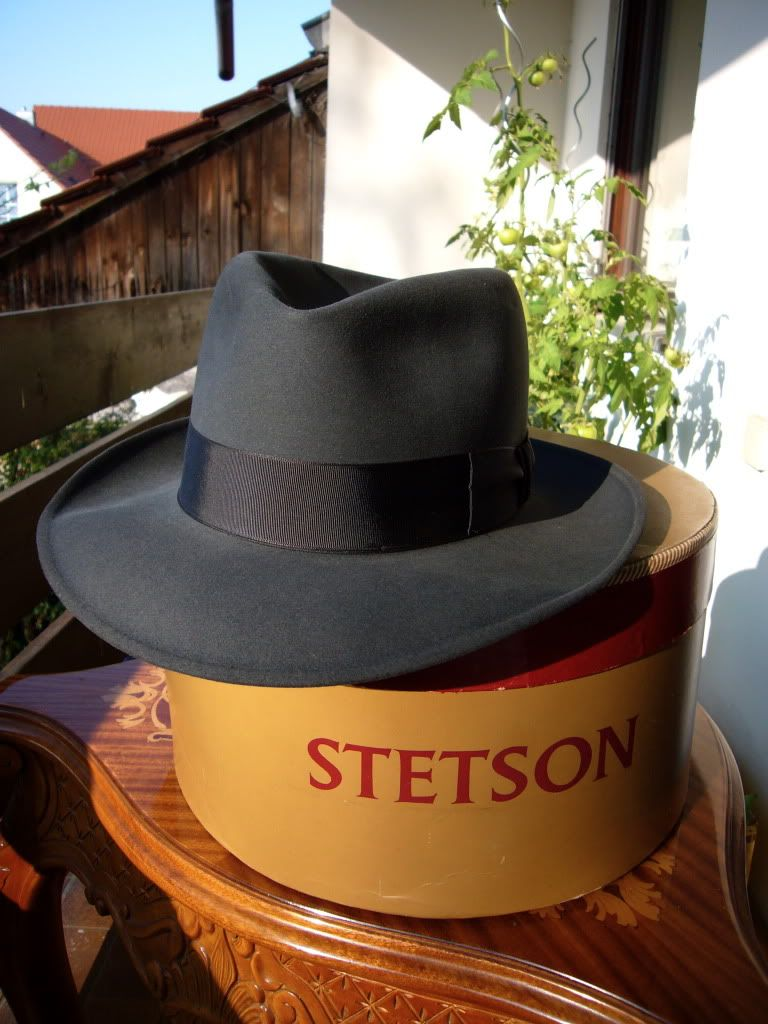 ea20542eb Vintage Fedora in it's box | Fedora | Dress hats, Hats, Stetson fedora