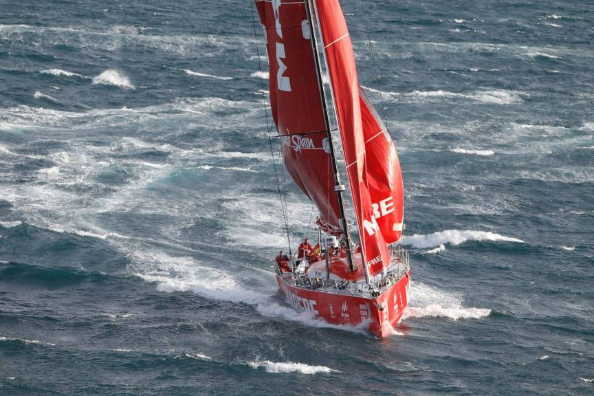 Leg 2 Start Cape Town | Volvo Ocean Race 2014-2015