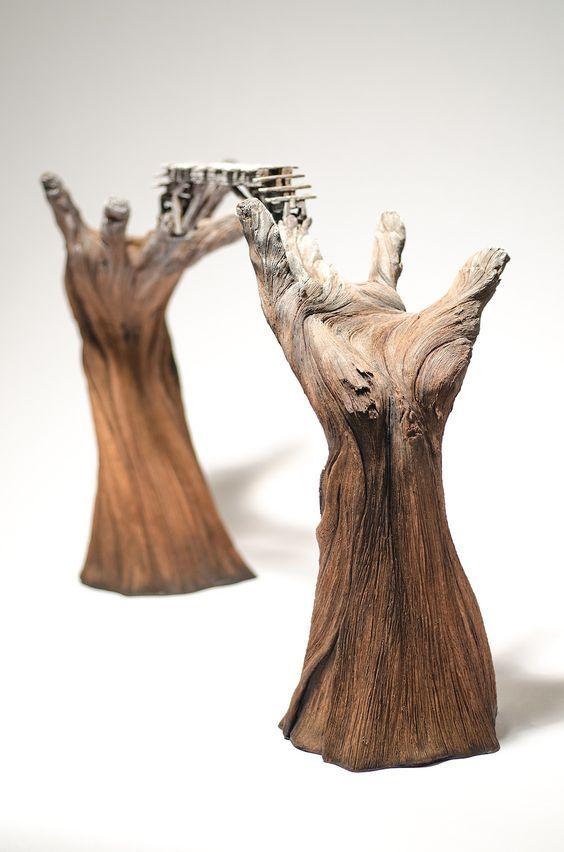 ~Christopher David White tarafından kil heykeller. http://www.mozzarte.com/sanat/christopher-david-white-tarafindan-kil-heykeller/