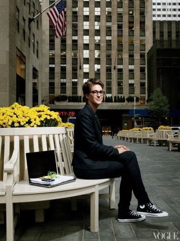 Business casual - Rachel Maddow style