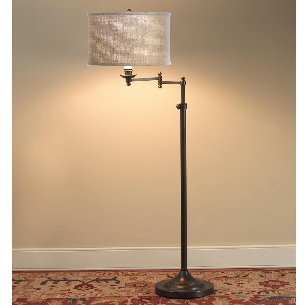 Designer Swing Arm Floor Lamp Base Only Swing Arm Floor Lamp