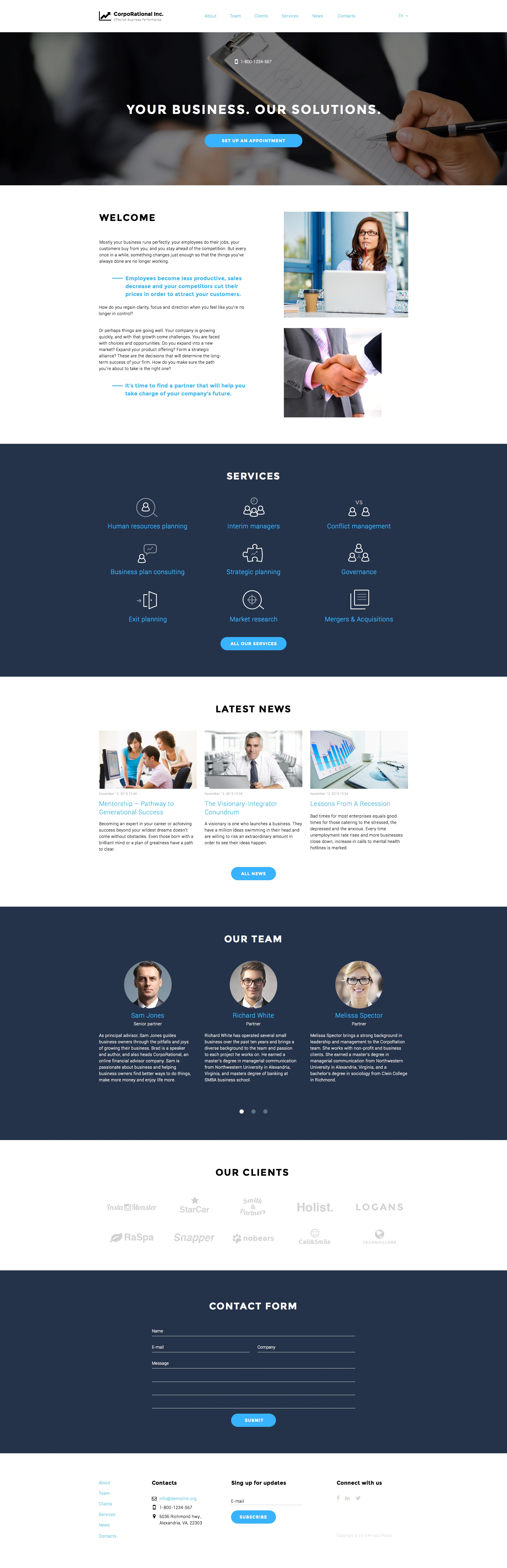 Coming soon: Business Responsive Template. Check Out its release ...