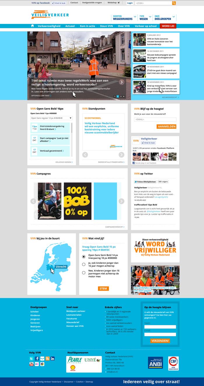 Interaction design & web design Veilig Verkeer Nederland ...