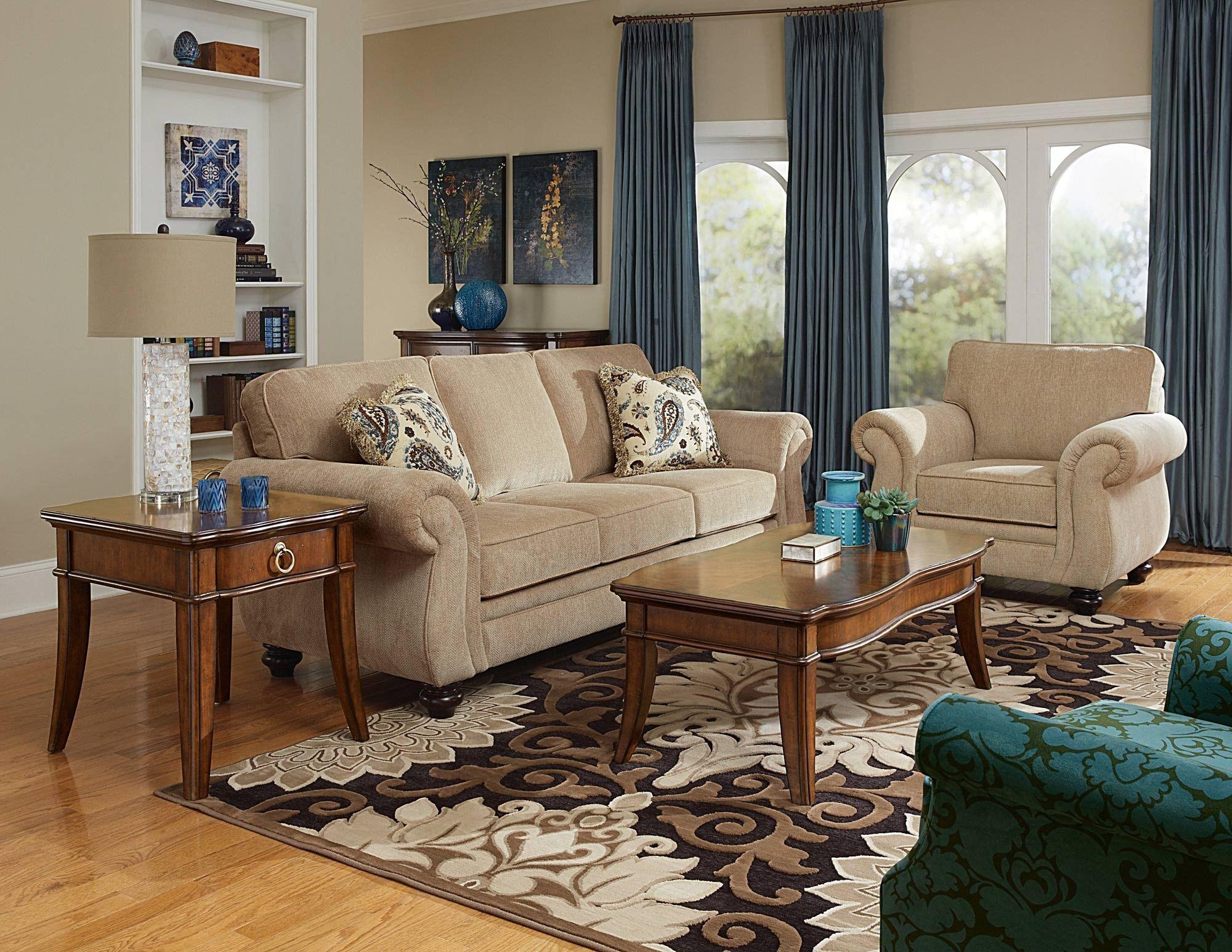 Cassandra Living Room Sofa Set by Broyhill Home Gallery
