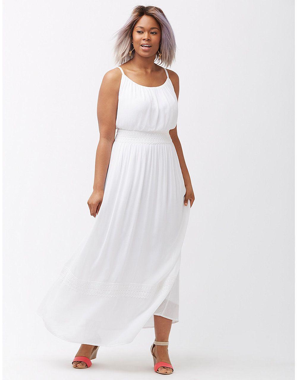 Smocked Waist Spaghetti Strap Maxi Dress Trendy Plus Size Dresses Spaghetti Strap Maxi Dress Maxi Dress [ 1280 x 1000 Pixel ]
