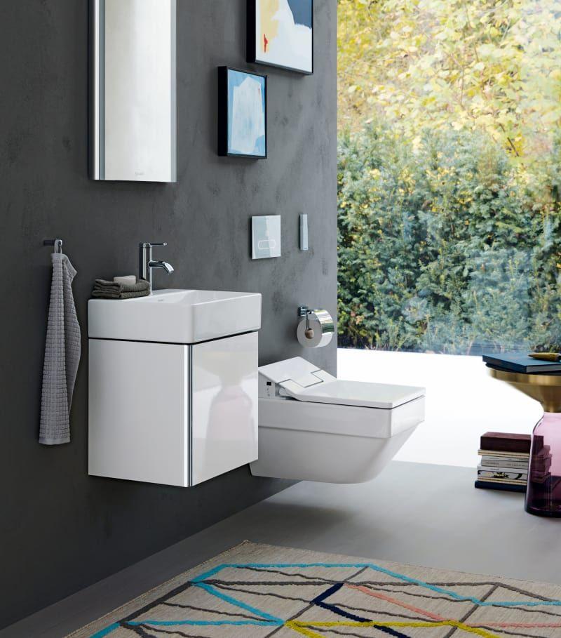 Die Neue Badmöbelserie U201eXSquareu201centwarf Duravit Für Kleine Badezimmer.;  (Foto: