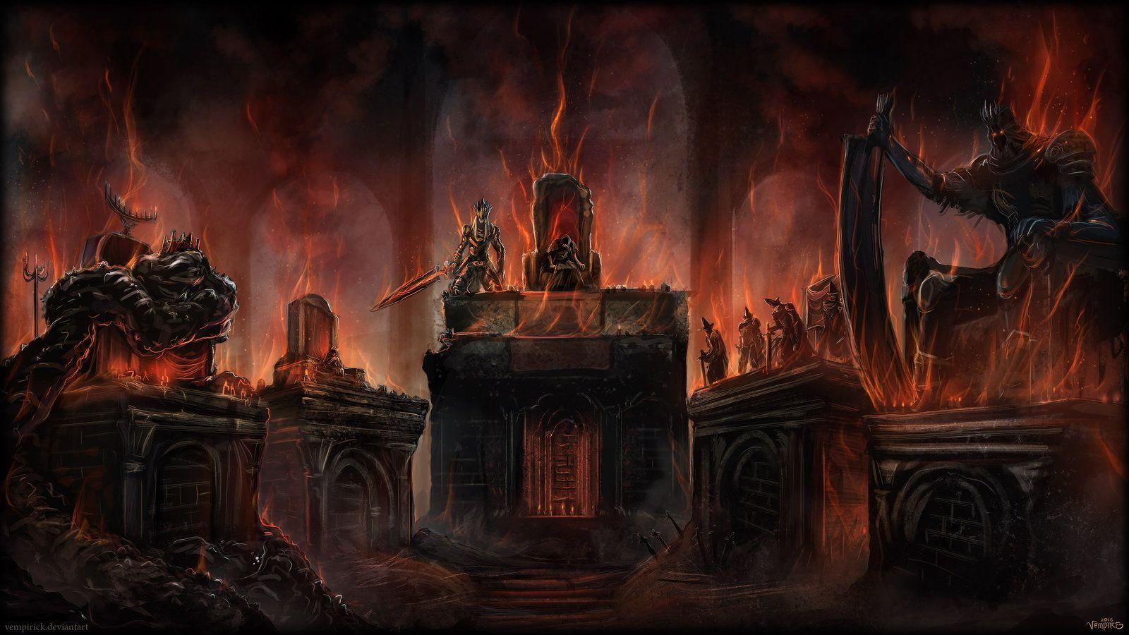 The Lords Of Cinder By Vempirick On Deviantart Dark Souls