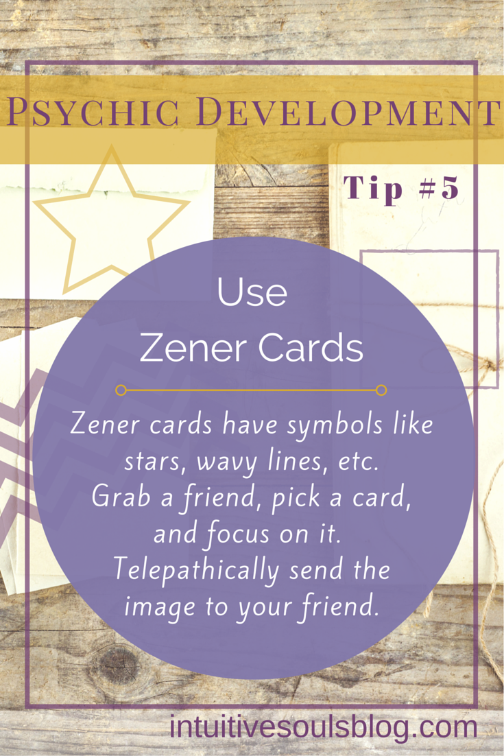 Psychic Development Tip #5: Using Zener Cards (Two Exercises