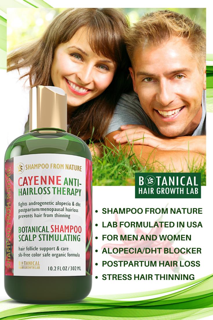 Shampoo From Nature - Cayenne Shampoo - Anti Hair Loss ...