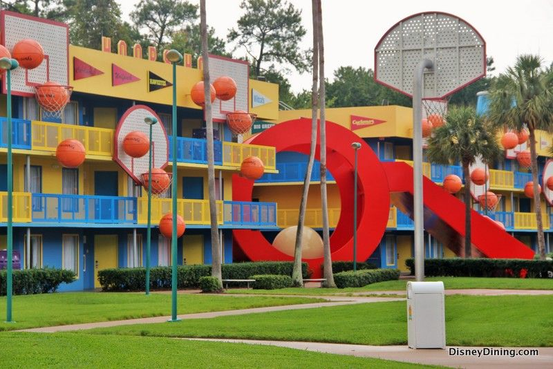 10 Great Things about Disney's AllStar Music, Sports, and