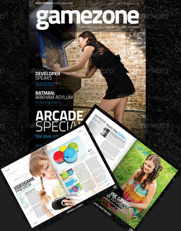 Video Magazine Template