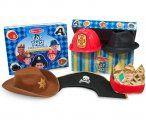 Ensemble 5 chapeaux pour jeux de rôles