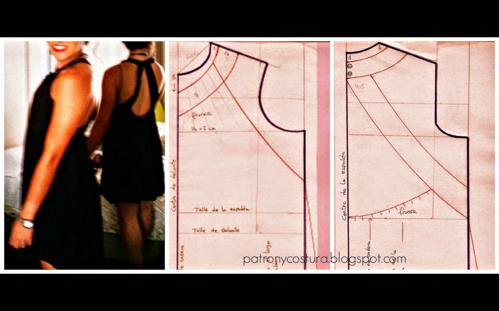 Patrón y costura : vestido fiesta \